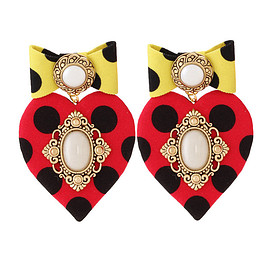 BADACIOUS - Happily Ever Polkadots Earrings