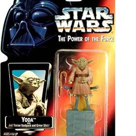 STAR WARS Power of the Force Red Card - Stormtrooper Action Figure
