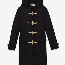 Saint Laurent - classical duffle coat