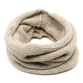 BEAMS - KNIT SNOOD OFFWHITE