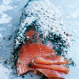 donna hay - dill and salt-cured salmon