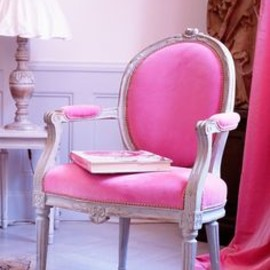 Pink Chair.