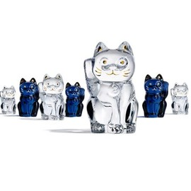 Baccarat - CHAT LUCKY CAT, CLEAR, original