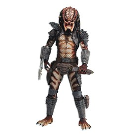 NECA - Predator 2 Quarter Scale Action Figure Unmasked City Hunter Predator