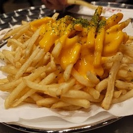 Cheese French fries