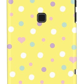 SECOND SKIN - uistore 「Dot (FreshLemon)」 / for ARROWS X F-02E/docomo