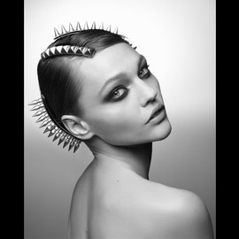 Maison Michel - Studded Head Piece