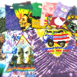 used - Tie-Dye Band T-Shirt
