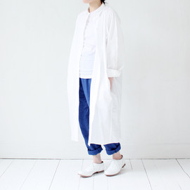 Sofie D'hoore - Long Sleeve Shirt One-piece / White