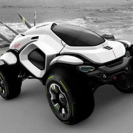 Hussa - Dakar rally vehicle concept