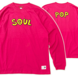 "MILLION RACE - L/S TEE ""SOUL & POP"""
