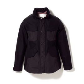 White Mountaineering - GORE-TEX WOOL HONEY COMB JACKET [CETUS] WM1473203
