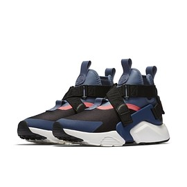 NIKE - Air Huarache City - Black/Navy/Diffused Blue/Racer Pink/Summit White