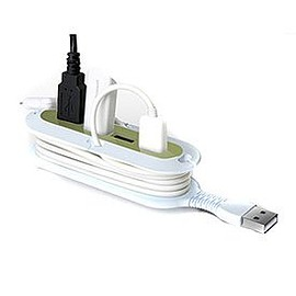 Quirky - Quirky Contort 4-Port USB Hub (Green)