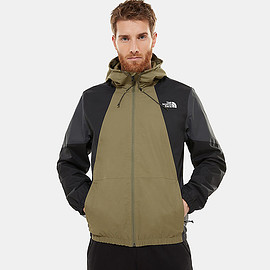 THE NORTH FACE - Waterproof Farside Jacket - Burnt Olive Green