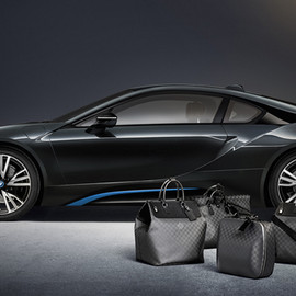LOUIS VUITTON - Luggage collection for BMW i8