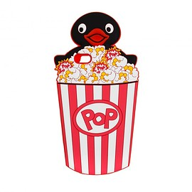 THE RODNIK BAND, PINGU - iPhone 6/6s Case: Popcorn