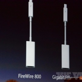 Apple - Apple Thundervolt Firewire adapter