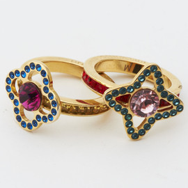 Louis Vuitton - Eye Candy Set Of Two Rings
