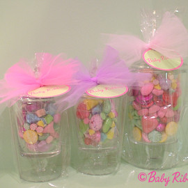 Baby Ribbon - American Sweets in Glass Jar