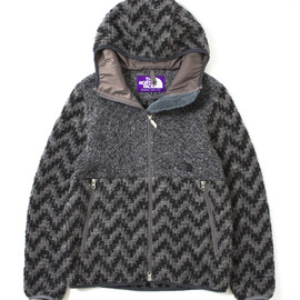 THE NORTH FACE PURPLE LABEL - Herringbone Wool Fleece Jacket