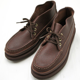 RUSSELL MOCCASIN - SPORTING CLAYS CHUKKA  BROWN