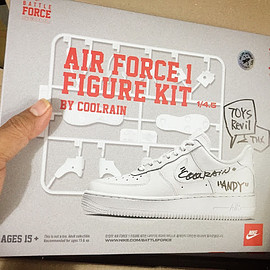 NIKE, Coolrain - Air Force 1 Figure Kit 1/4.5