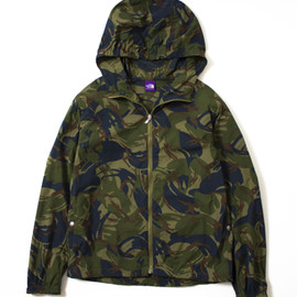 THE NORTH FACE PURPLE LABEL - Camouflage Mountain Wind Parka