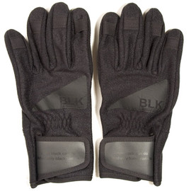 WHITE MOUNTAINEERING - BLK Gore Windstopper Blackbird Gloves