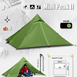 Luxe Outdoor - Mini peakⅡ
