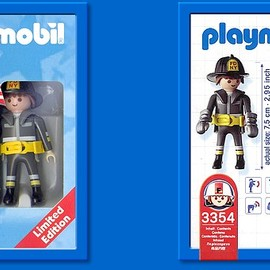 Playmobil - 3354 - FDNY Fire Fighter