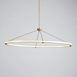 Roll & Hill - Halo Oval Pendant light