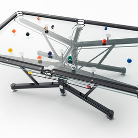 Nottage Desig - Glass Pool Tables