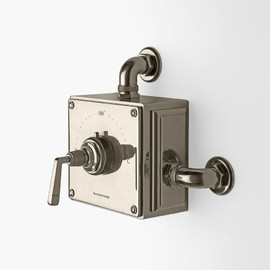 Waterworks - R.W. Atlas Exposed Thermostatic Valve with Metal Lever Handles