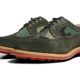 Mark McNairy New Amsterdam - Two Tone Long Wing Brogue
