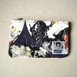 "BOHEMIANS - MINI CLUTCH ""CIRCLE PALETTE"""