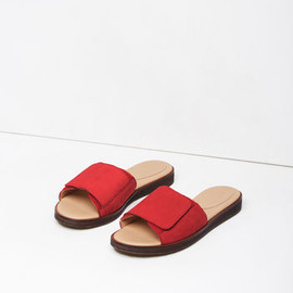 MM6 BY MAISON MARTIN MARGIELA - Flat Nubuck Sandals