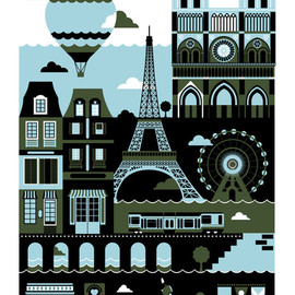Kouvo - Paris Art Print