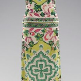 Emilio Pucci - evening dress ca. 1966 silk, rhinestones