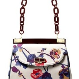 Tory Burch - Tory Burch Printed Faille Medium Top Resin Bag
