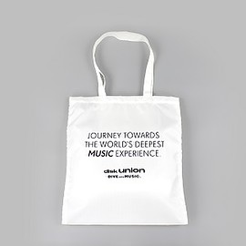 diskunion - PACKABLE TOTE JOURNEY TOWARDS THE WORLD'S DEEPEST MUSIC EXPERIENCE.