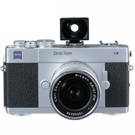 Carl Zeiss - Carl Zeiss Ikon SW ボディ シルバー