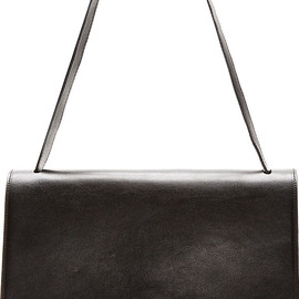 MM6, Maison Martin Margiela - Black Leather Geometric Satchel