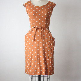 vintage - covent garden dress / 1960s wiggle dress