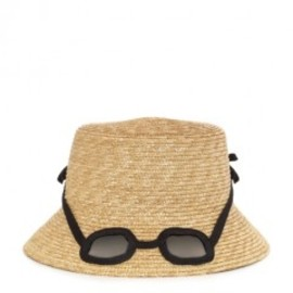 kate spade NEW YORK - straw sunglass hat