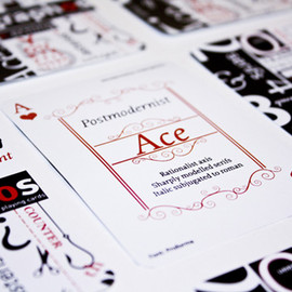 Michelle Lam - Graphos Playing Cards: Learn typography in a fun and easy-to-understand way