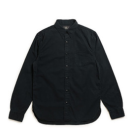 RRL - Railman Cotton Twill Workshirt-Black