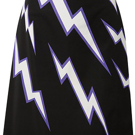 PRADA - Pre-Fall 2019 Printed cotton-poplin skirt