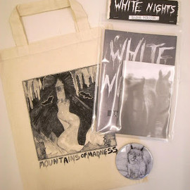 Ragnar Persson - WHITE NIGHTS (Zine Pack + Tote bag set)