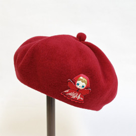 RADIO EVA - PUPPET Collection Beret(override) (レッド) - main image